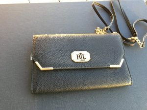 Ralph Lauren Borsa clutch nero-oro Pelle