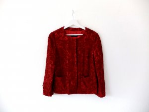 Neuwertige Dolce & Gabbana Jacke Gr. 40 44 rot seide spitze