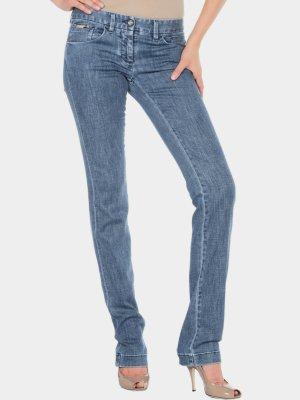 Dolce & Gabbana Jeans met rechte pijpen blauw