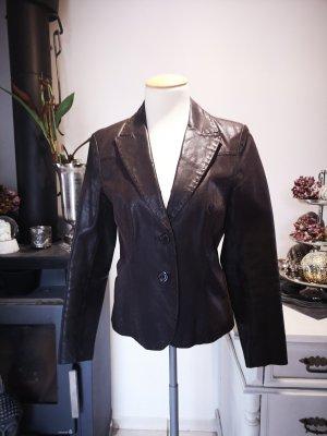 e94bba6258e229 Neuwertige Echtleder Lederjacke von More & More Gr 36 Jacke Leder  Echtlederjacke tailliert Lederblouson Lederblazer