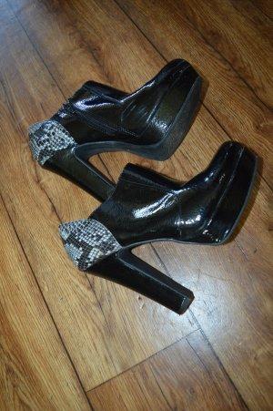 Graceland Escarpin à plateforme noir-gris