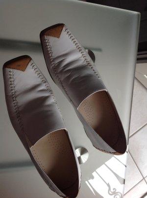 neuwertige elegante Halbschuhe aus Leder, sehr bequem
