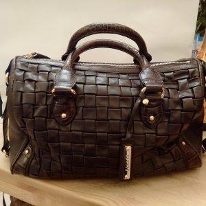 Escada Handbag taupe leather