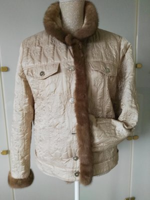 Airfield Quilted Jacket light brown-cream