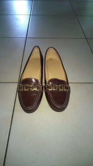 Geox Moccasins brown leather