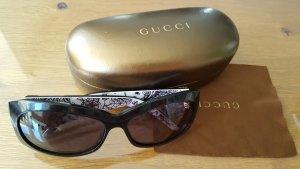 Gucci Hoekige zonnebril veelkleurig kunststof