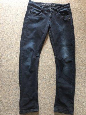 Glücksstern Stretch Jeans dark blue