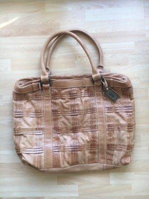 Neuwertige Hugo Boss Designer Leder Tasche Handtasche Shopper