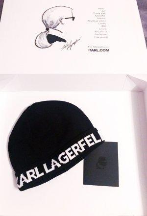 Karl Lagerfeld Gebreide Muts zwart