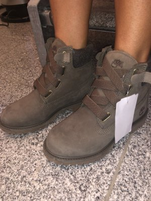 Timberland Ankle Boots khaki-grey brown