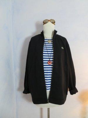Neuwertige LACOSTE Sweat Jacke kuschelig warm Zipper XL XXL Schwarz