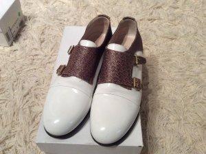 AGL Zapatos sin cordones blanco