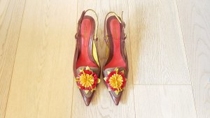 Montbui Slingback Pumps multicolored leather