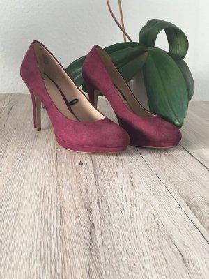H&M High Heels bordeaux