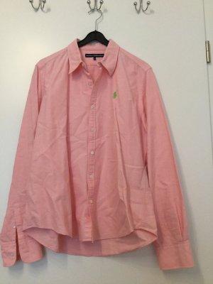 Neuwertige Ralph Lauren Bluse in Pink (Größe US 12, D 40/42 bzw. L)