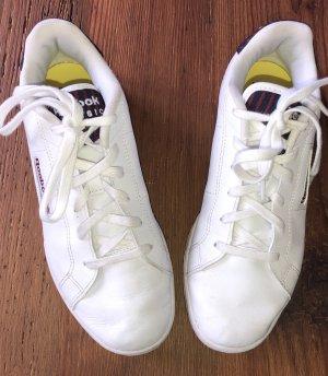 Neuwertige Reebok Classic Leder Sneaker/ Turnschuhe Gr. 38 weiß