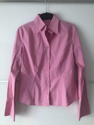 United Colors of Benetton Blouse met lange mouwen roze-neonroos
