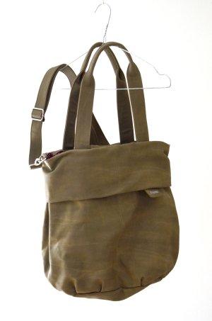Zwei Bolsa de hombro marrón grisáceo Imitación de cuero