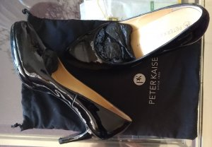 Peter Kaiser High-Front Pumps black leather