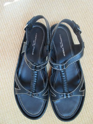 Neuwertige schwarze Sandalen