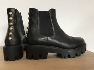 Kämpgen Platform Booties black leather