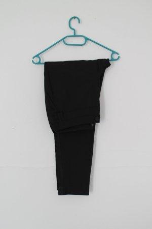 Vivance Drainpipe Trousers black cotton