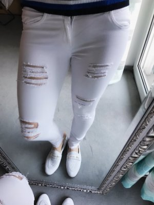 Pimkie Carrot Jeans white
