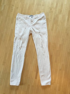 Neuwertige Skinny Jeans im destroyed Look, 29/32