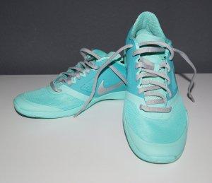 Nike Lace-Up Sneaker cadet blue-mint textile fiber