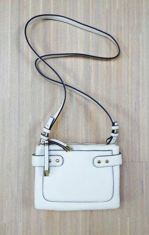 Neuwertige Stefanel Crossbody-Tasche in weiß