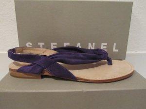 Neuwertige Stefanel Wildleder Sandale