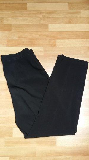 neuwertige Stoffhose, Anzughose, Hose/ schwarz/ 40/ M