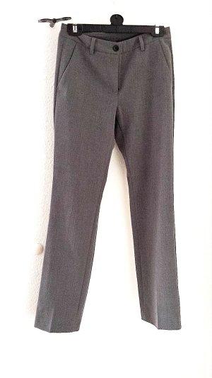 Neuwertige Stoffhose von Benetton, grau, Gr.34