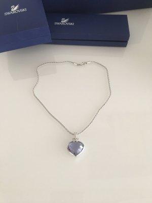 Neuwertige Swarovski Halskette mit tollen Herz