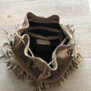 Neuwertige Tigha Tasche mit Fransen- Look