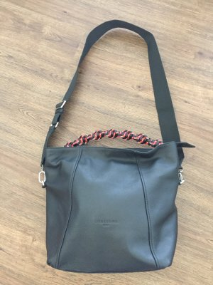 Liebeskind Handbag black-red leather