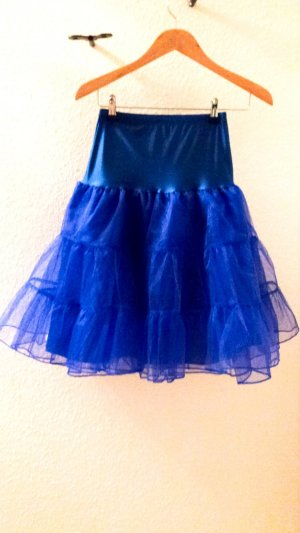 Underskirt blue polyester