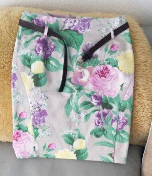 H&M Falda de tubo multicolor Algodón