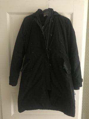Canada Goose Manteau à capuche noir