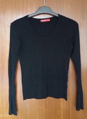 neuwertiger Damen Pullover/ V-Ausschnitt/ langarmig/ Gr. 38