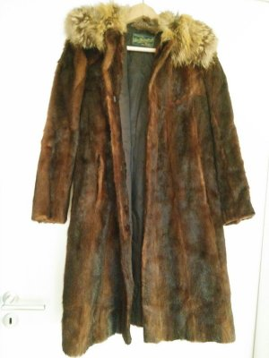 Pelt Coat brown-light brown pelt
