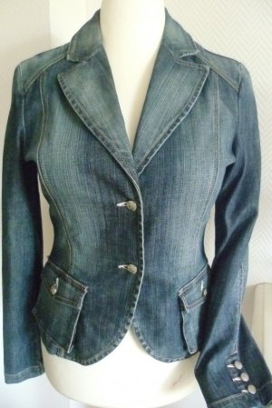 Joop! Jeans Denim Blazer blue cotton