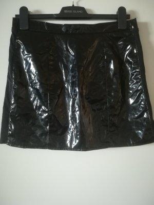 Ledapool Falda de talle alto negro