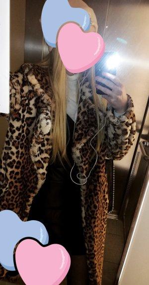 Neuwertiger Leoparden Mantel Größe S/36