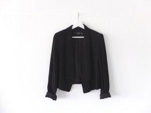 neuwertiger offener Mango Blazer Gr. M 38 40 schwarz wie neu jacket