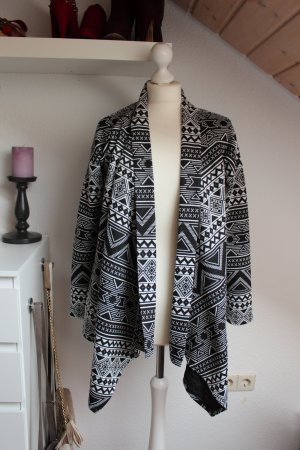 Neuwertiger ONLY Cardigan S 36 38 Damen Jacke Strickjacke Ikom Muster Allover
