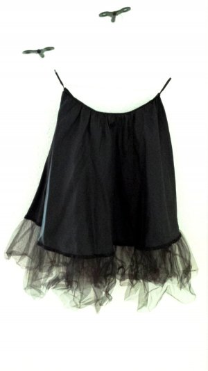 H&M Jupon noir polyester