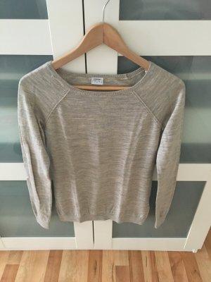 Neuwertiger Pullover von Esprit, Größe S, grau/beige