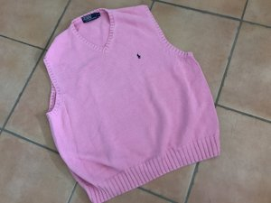 Polo Ralph Lauren Long Cardigan pink cotton