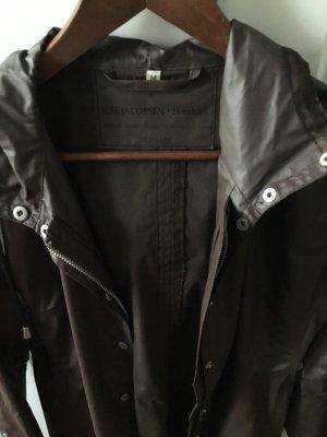 Ilse jacobsen Heavy Raincoat dark brown-brown